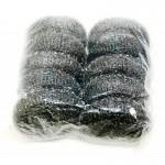 no.19) galvanised steel scourers