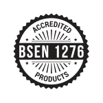 Products accredited with BSEN 1276